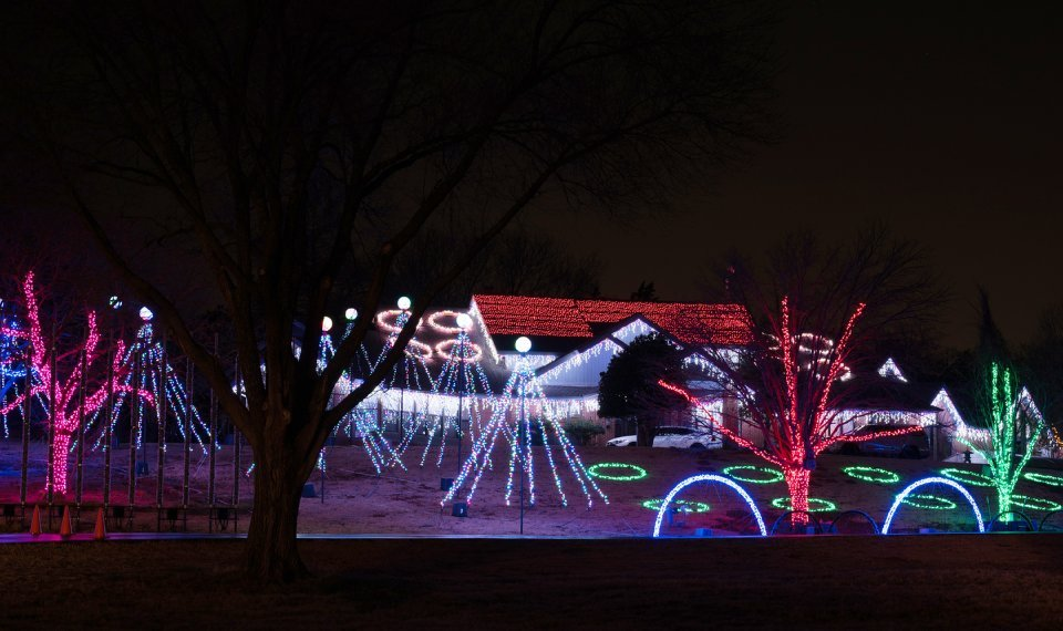 Christmas Light Installation New Brighton MN
